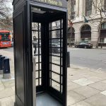 cabine téléphonique wifi londres