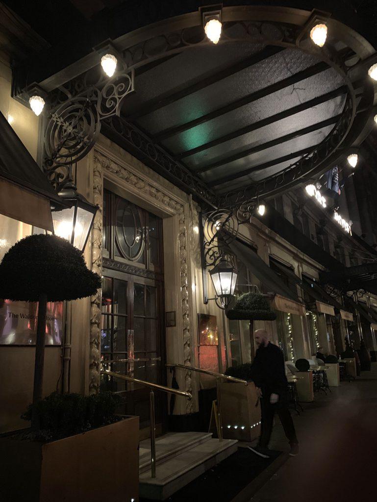 hotel waldorf londres