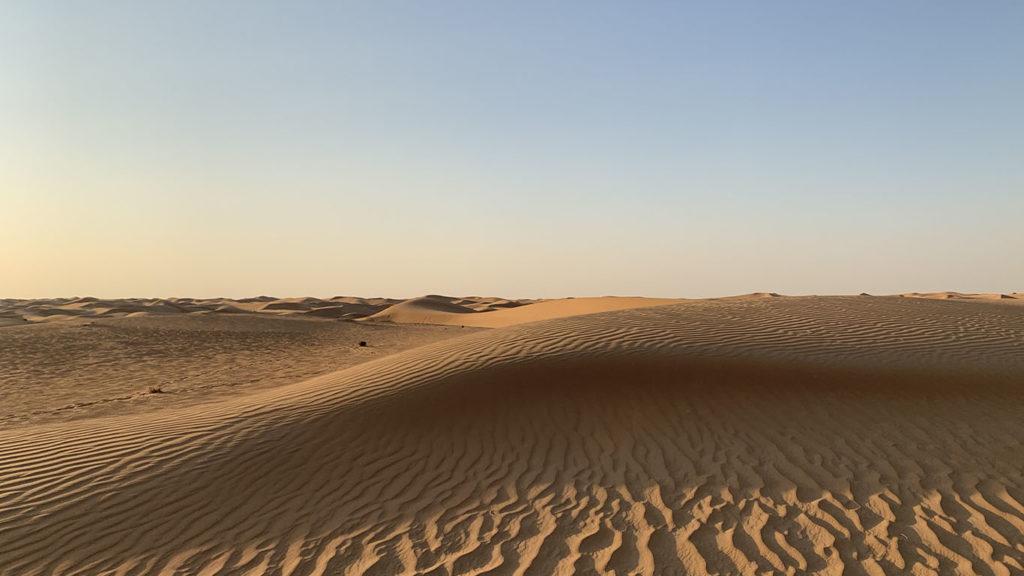 dune de sable dubai