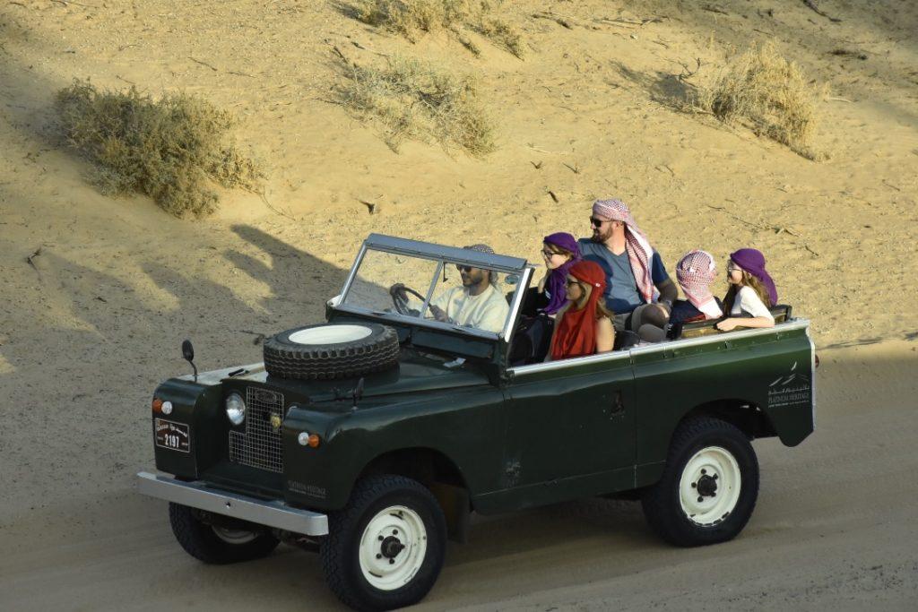 jeep excursion désert dubaï