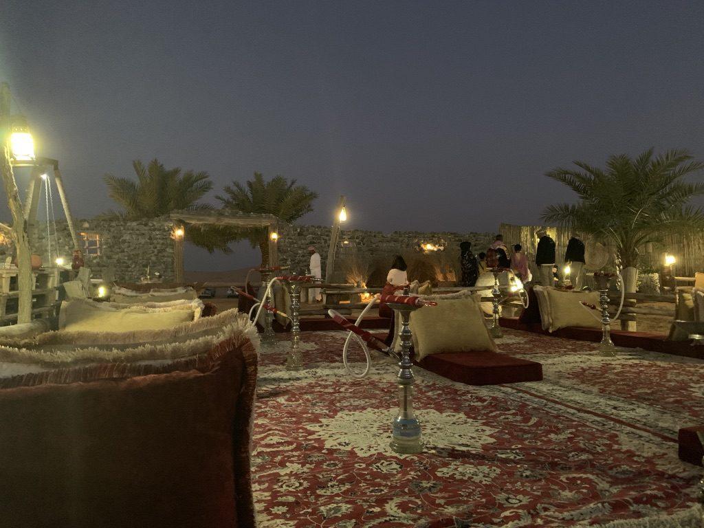 camp de bédouin dubaï