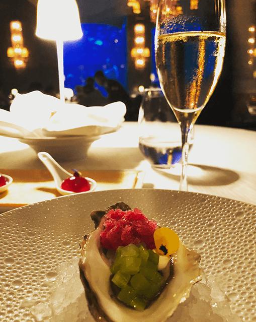 oyster ossiano restaurant dubai