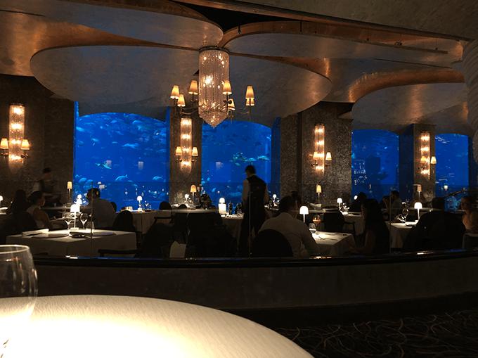 salle du restaurant ossiano dubai